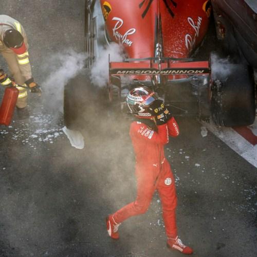 Leclerc's crash in qualifying dominates headlines ahead of Azerbaijan Grand Prix
