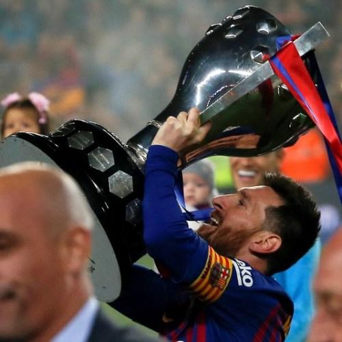 Barcelona wins La Liga title