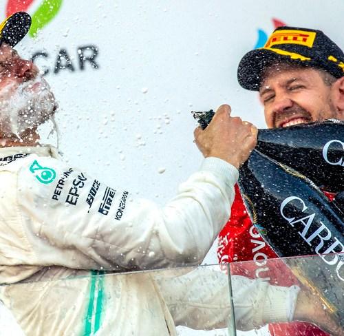 Bottas extends Mercedes lead in F1
