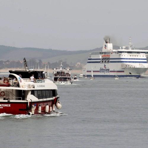 Fire breaks out on Britain-Spain ferry