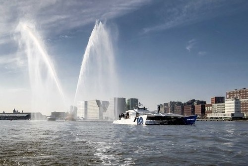 Photostory: 'Energy Observer' arrives in Amsterdam