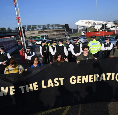 London climate activists threatening to shut down Heathrow airport