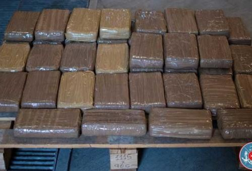 91.2 kg, worth 10.2 million euros of cocaine seized by Maltese customs at Malta Freeport