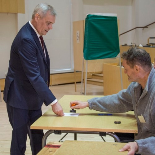 Social Democrats win first phase of Finland's election