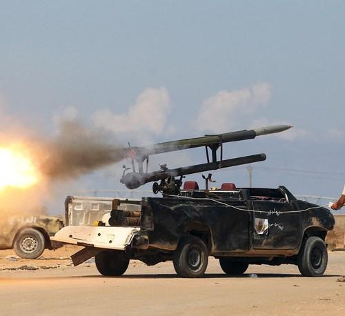 Fierce fighting around Tripoli