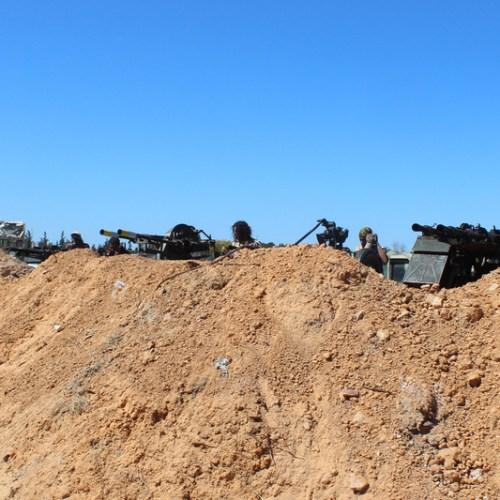 Heavy airstrikes on the edge of Tripoli