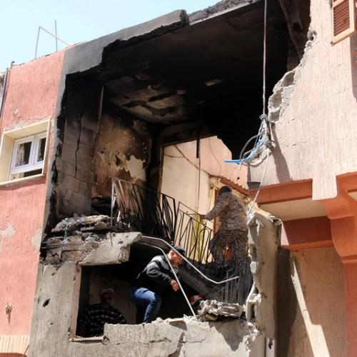 Heavy overnight bombing around Tripoli
