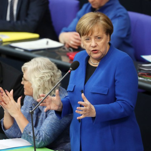 Merkel says possibility of a longer Brexit delay