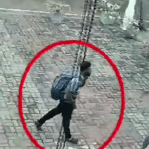 Isis claim responsibility for Easter Sunday attacks… Footage emerges of one of the Sri Lankan terrorist entering a church