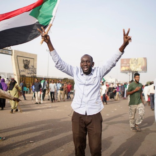 Tens of thousands protest in Sudan's capital city Khartoum