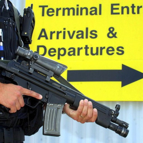 Four men arrested in terror probe at Luton Airport