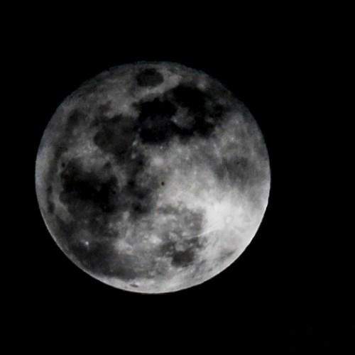 The moon is shrinking according to NASA