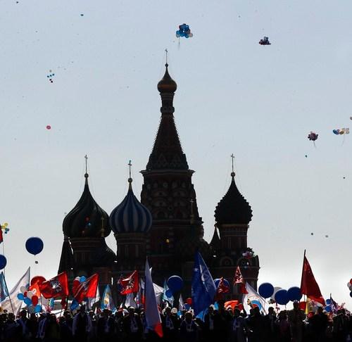 Slideshow: May Day celebrations around the world