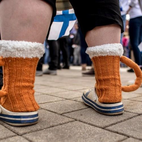 Photo Story : Mug socks