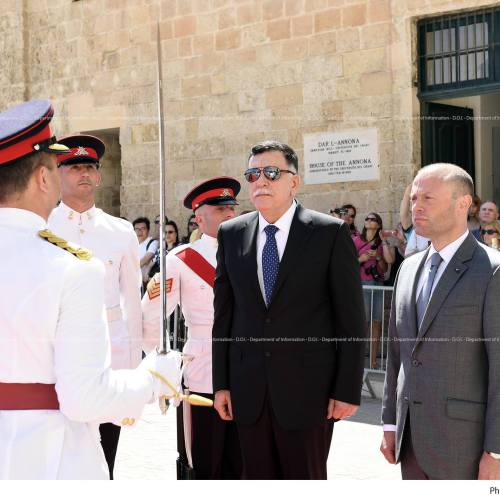 Prime Minister Joseph Muscat and Libyan counterpart hold talks in Valletta