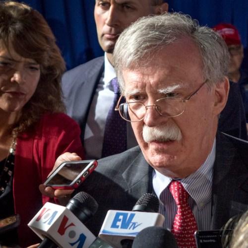 John Bolton warns Iran of 'very strong response'