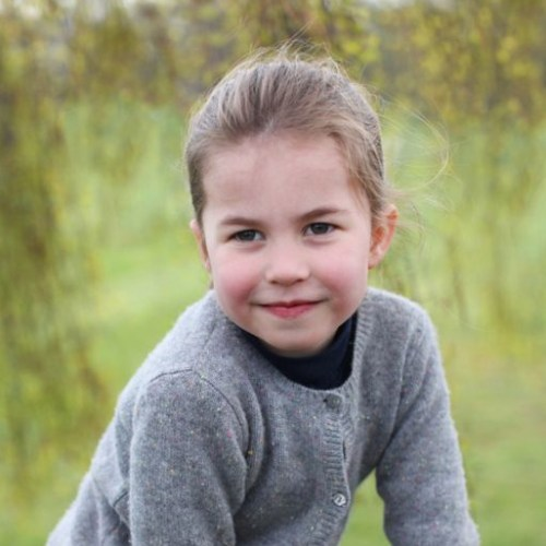Photos of Princess Charlotte issued to celebrate her birthday