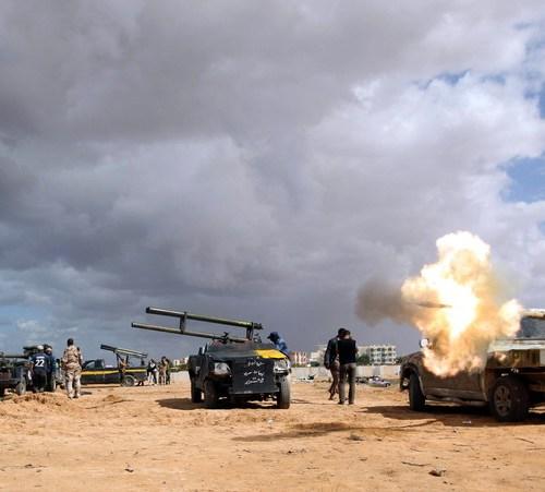 Overnight fighting in Tripoli