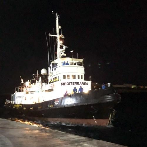 NGO-run ship Mare Jonio seized