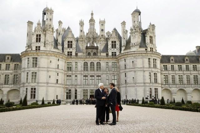French and Italian presidents attend da Vinci anniversary at Chateau de Chambord