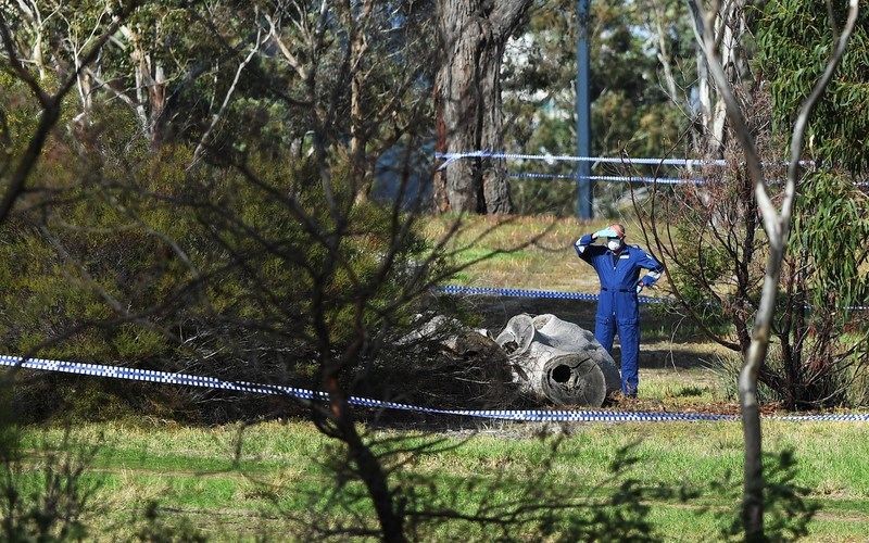PhotoStory: Woman found dead in Melbourne park