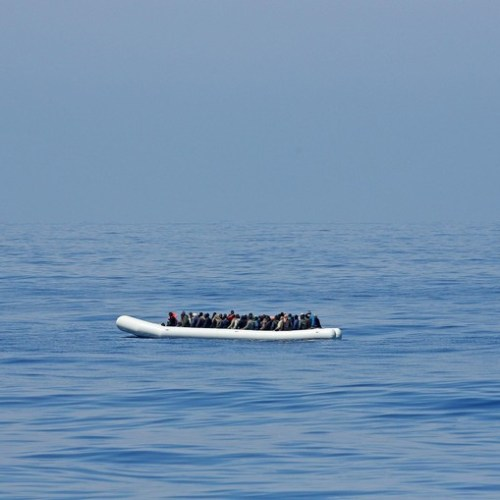 Reports of child left to die on abandoned dingy off Libyan coast, AFM saves 75 persons stranded on tuna pen