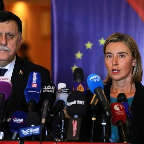 Mogherini appeals for ceasefire in Libya