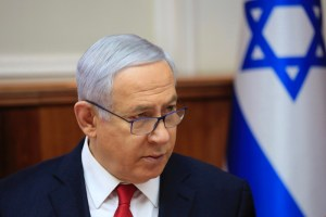 Weekly Israeli cabinet meeting