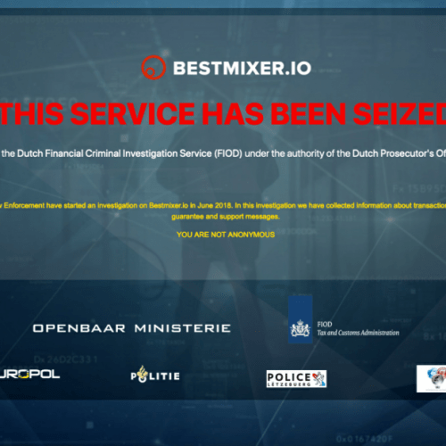 Multi-million euro cryptocurrency laundering service Bestmixer.io taken down