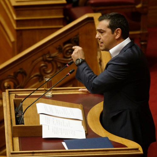 Greek Government wins vote of confidence