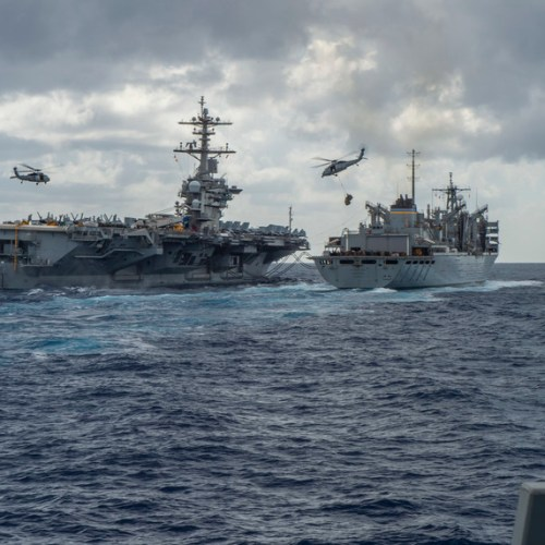 USS Abraham Lincoln ready for every eventuality