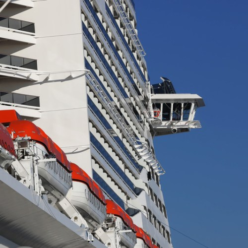 Irish woman rescued after falling overboard cruise ship