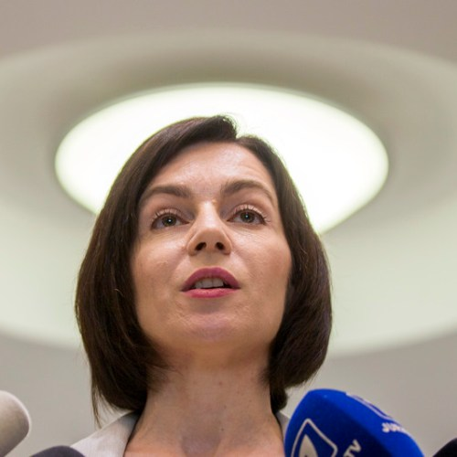 Moldova's would-be prime Minister wants EU to save democracy in her country