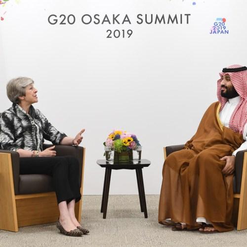 Theresa May raises concerns on Khashoggi's investigation and Yemen conflict
