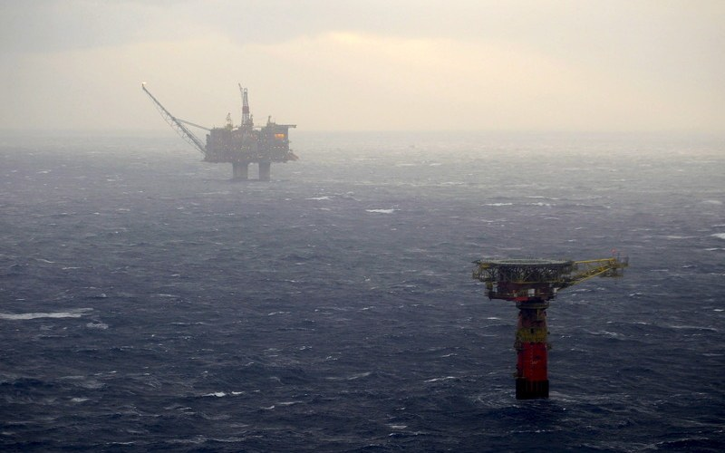 Supply vessel collides with Statfjord A Platform in North Sea