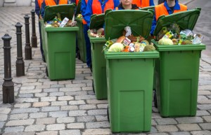 Protest against food waste in Vienna