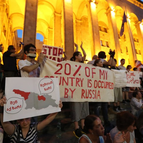 Photo Story: Protests in Tbilisi