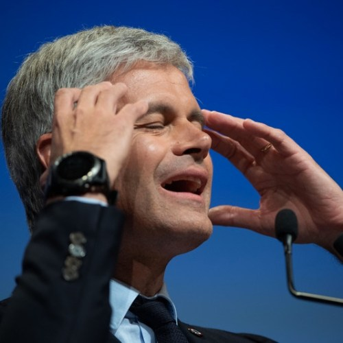 Laurent Wauquiez succumbs to pressure and resigns as leader of France conservative opposition party after historic defeat in European election