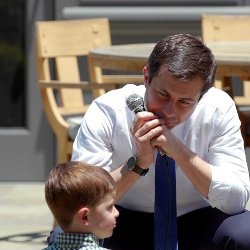 Photo story : Pete Buttigieg on the campaign trail