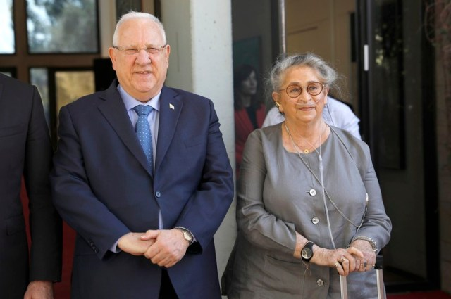 Israeli President wife Nechama Rivlin passed away at the age of 73
