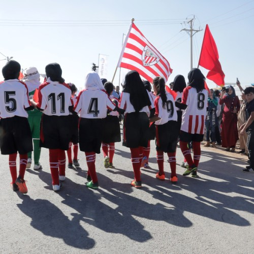 Photo Story: La Liga project at Zaatari refugee camp