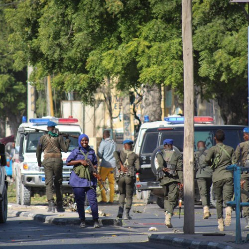 26 killed in hours-long al-Shabab hotel siege during political activity in Somalia