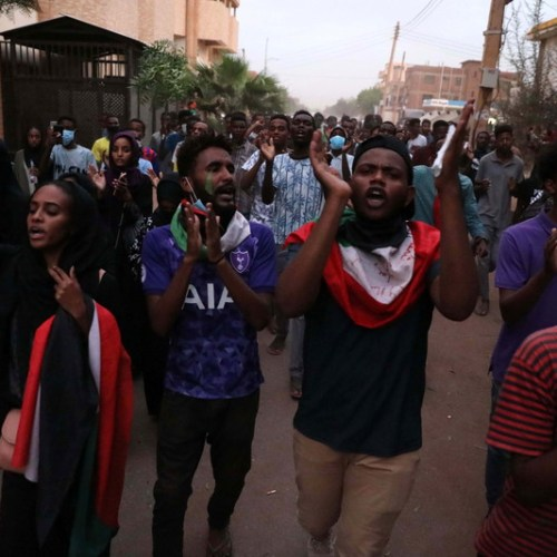 Four school children and one adult killed during student protest in Sudan