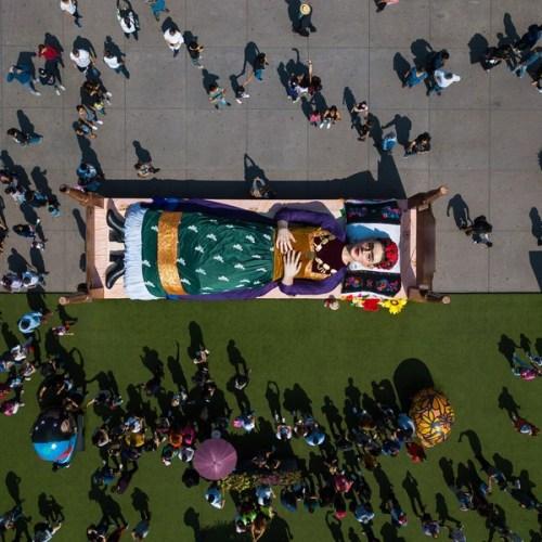 Photo Story: Celebrations of Frida Kahlo's 112th birthday