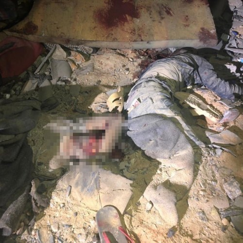 At least 40 persons killed in air raid that hit detention centre in Benghazi by Haftar's forces (Updated with Photos)