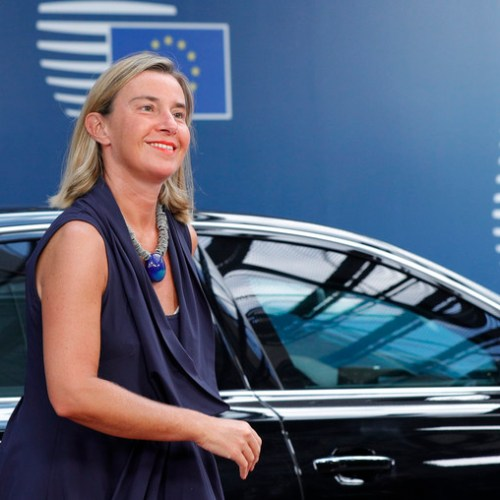 EU foreign ministers meet to discuss Iran nuclear deal