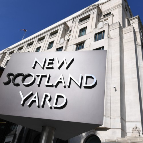 Scotland Yard Twitter account hacked