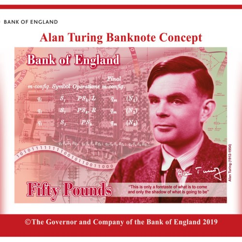 Photo Story: Preview of Bank of England's new 50 GBP note