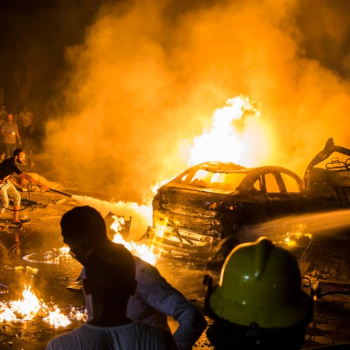 Cairo hit by deadly explosion