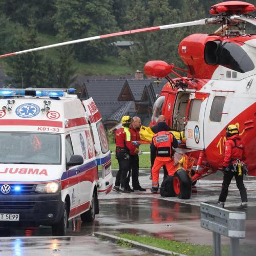 Lightning strike in Poland kills four, injures 100